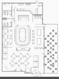 restaurant floor plan layout with kitchen layout included shining