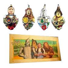 wizard of oz polonaise glass ornaments kurt s adler wizard of