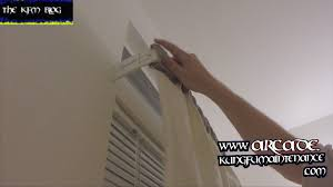 Traverse Curtain Rod Repair How To Adjust Double Wide Curtain Or Valance Rods For Closeness Or
