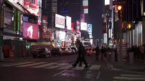 Thanksgiving November 26 New York Ny November 26 Downtown Traffic Going Through Times