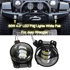 led lights for jeep wrangler jk aliexpress com buy 4inch 30w projector lens led fog driving