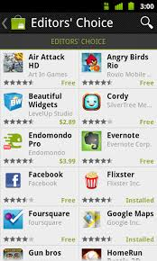 android market app redesigns android market mobile phone app once again
