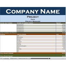 simple project budget template budget template free