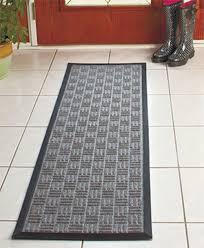 indoor outdoor utility runner floor mat durable anti slip hallway