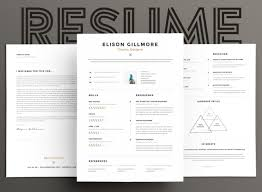 Two Page Resume 15 Eye Catching Resume Templates That Will Get You Noticed