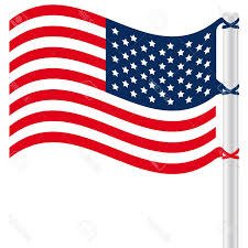 Usa Flag Vector Best Free Waving American Flag Clip Art Design