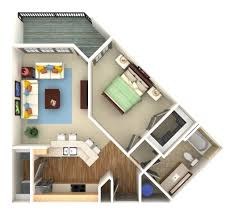 3d floor plan and 3d site plan renderings prevision 3d