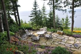 stone patio what to know about installing a stone patio