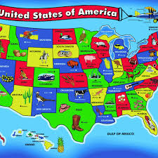 us map middle states map of united states of america with states and capitals us map