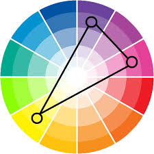triadic color scheme what is it and how is it used color