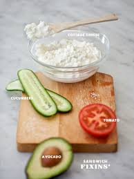 Cottage Cheese Recepies by Cottage Cheese Sandwich With Avocado