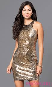 fitted sequin holiday cocktail party dress promgirl