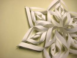 How To Make A Snowflakes Out Of Paper - beautiful paper snowflake 盞 how to make a snowflake 盞 papercraft
