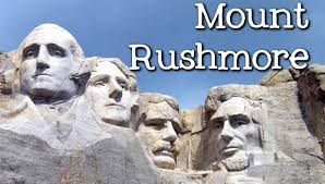 Mt Rushmore Map The History Of Mount Rushmore For Kids Famous Landmarks For