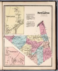 Westchester County Map Town Of Newcastle Westchester County New York Insets