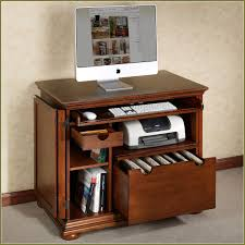small corner desk with file drawer
