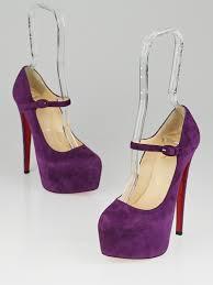 golden chain louboutin lady daf violet