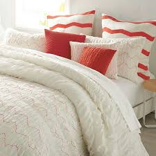 amazon com dkny urban sanctuary ivory coral king comforter set