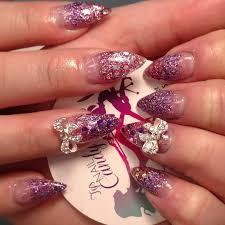 29 glitter acrylic nail art designs ideas design trends