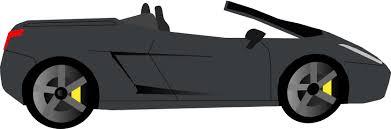 cartoon convertible car convertible sports car clip art at clker com vector clip art