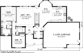 ranch floor plans attractive ideas ranch floor plans 1 house plan 73148 at