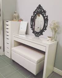 Ikea Vanity Table With Mirror And Bench Princess Vanity Set With Mirror And Bench Nuhsyr Co