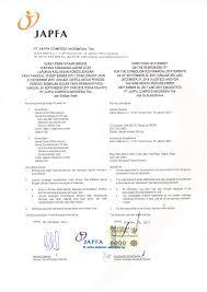 PT Japfa Gomfeed Indonesia Tbk dan Entitas Anak and ifs Su bsidiaries