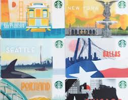 where in the world starbucks cards from around the globe