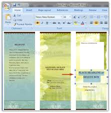 word 2013 brochure template 3 professional samples templates