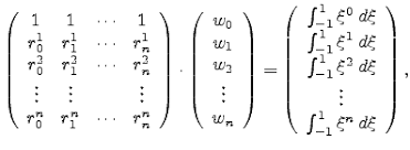 Gaussian Integral Table B 3 Volume Integral