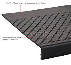 flooring u0026 carpeting stair treads outdoor recycled rubber