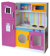 gioco cucina leomark grande cucina rosa in legno giocattolo per bamibni gioco g