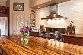 zebrawood wood countertop photo gallery devos custom woodworking zebrawood face grain custom wood island countertop