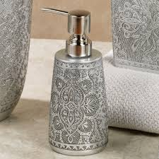 Silver Bathroom Accessories Bathroom Decor - Silver bathroom