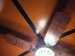 sports themed ceiling fans basketball ceiling fan basketball bedroom pinterest ceiling