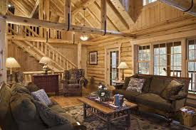 log home living rooms living room with u straps to furnish a