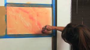 painting a wall how to marble paint a wall youtube