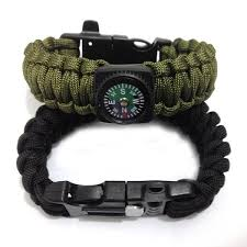 survival bracelet with whistle images Survival paracord bracelet with compass emergency rope whistle jpeg