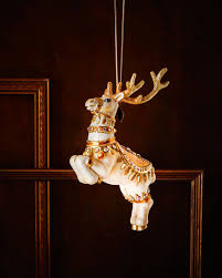 strongwater reindeer ornament