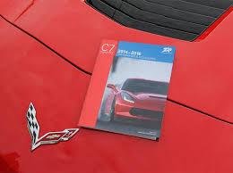 zip corvette catalog zip corvette releases inaugural parts catalog for the c7