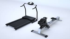 massive gym equipment collection 3d model cgtrader