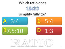 maths simplifying ratio starter plenary by tristanjones