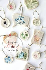 easy sted salt dough ornaments tonya staab