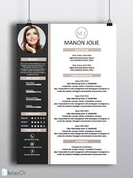 Professional Resume Templates For Microsoft Word Instant Download Professional Resume Cv Template Design