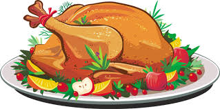 clipart of thanksgiving turkey dinner clipartxtras