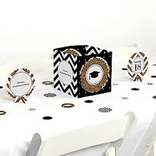 Graduation Party Centerpieces For Tables by Tassel Worth The Hassle Gold Graduation Theme