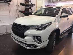 fortuner customised toyota fortuner looks sporty and aggressive