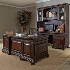 computer desk and credenza executive laminate l shape office desk with hutch ebay gorgeous