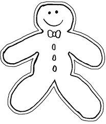 gingerbread man coloring book the twelve days of christmas