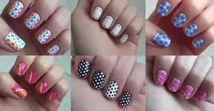 pastel polka dots nail art tutorial wonder forest nail art